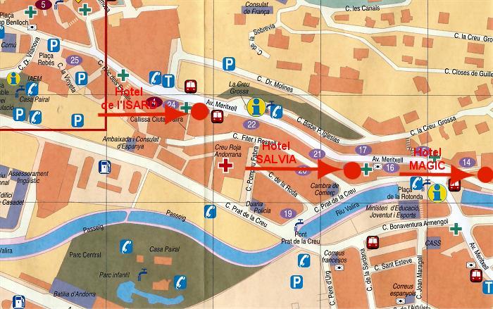 Plan andorre la vieille - Office du tourisme andorre la vieille ...
